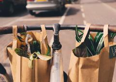 Polyesterová eko taška je najlepšia voľba.