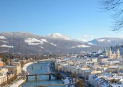 Salzburg - zimná dovolenka